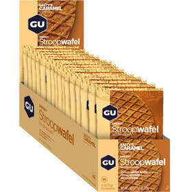 GU Energy Stroop Wafel Box 16x32g, Salty's Caramel